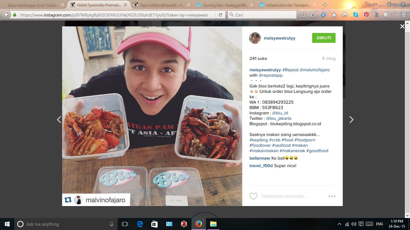 Ciri Ciri Sifat Kebiasaan Umum Orang Indonesia Di Instagram